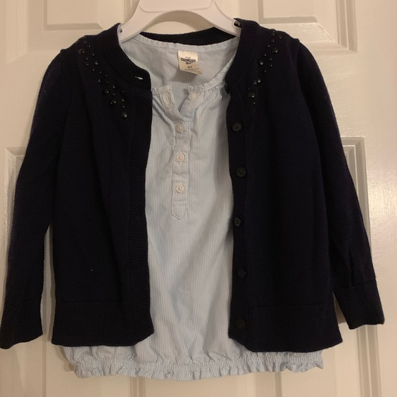 Carter's Other - Carters cardigan and blouse